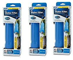 Camco 40043 Tastepure Water Filter With Flexible Hose Protector Rebiuy, 3 Pack