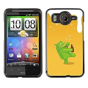 EJOY---Cubierta de la caja de protección la piel dura para el ** HTC G10 ** --Dunk Android