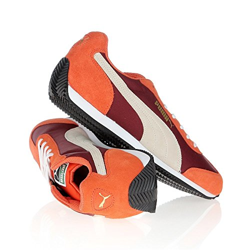 Puma - Rio Speed - 35526618 - Color: Blanco-Naranja-Rojo burdeos - Size: 42.0
