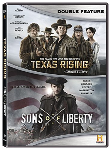 DVD : Texas Rising / Sons of Liberty (Boxed Set, 5 Disc)