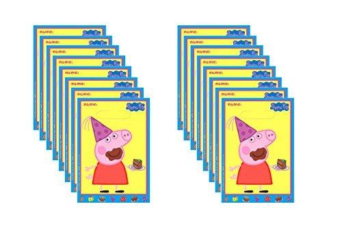 Peppa Pig Loot Bags 16 Ct.]()