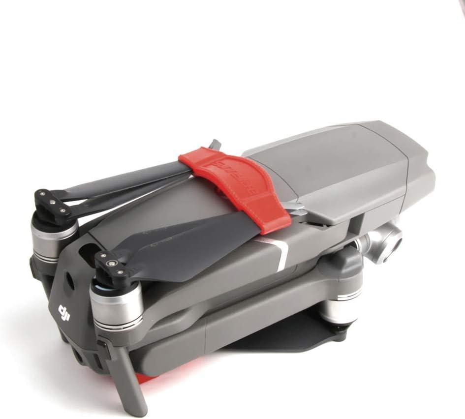 Nero NUOBESTY Eliche Stabilizzatore Protezione Clip in Silicone Fissatore Protezione Lama Supporto Fisso Cinghia per DJI Mavic 2 PRO Zoom Drone Accessorio