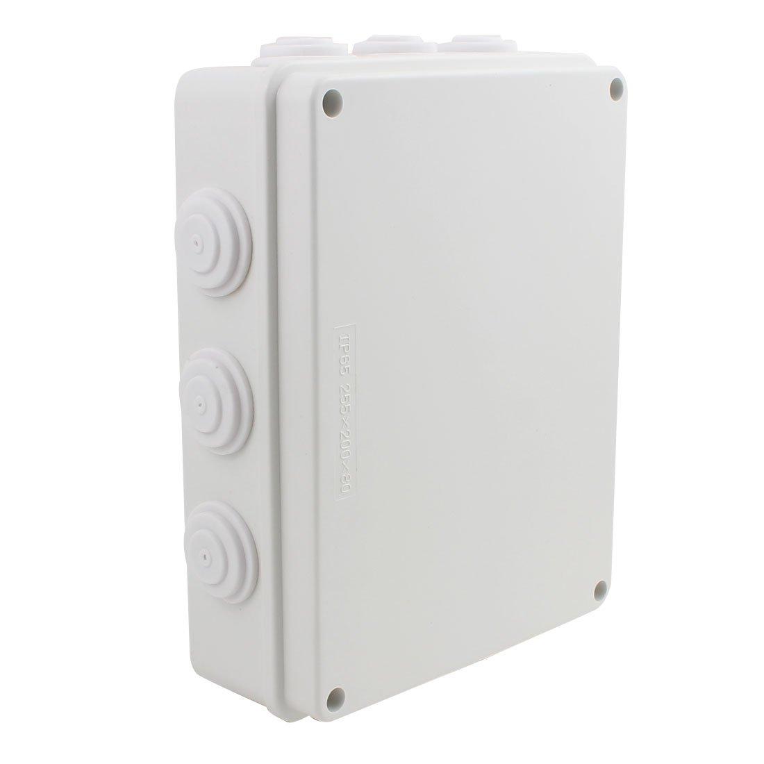 D74mm x H45mm Dustproof IP44 Junction Box Universal Electric Project Enclosure
