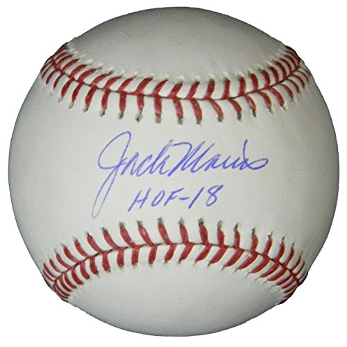 Jack Morris Autographed/Signed Rawlings Official MLB Baseball w/HOF'18 - Authentic Signature