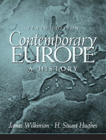 Contemporary Europe A History 10th Edition