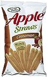 Sensible Portions Cinnamon Apple Straws - 5 oz - 12 pk