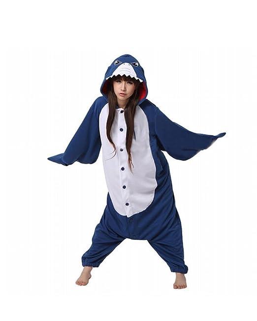 Win8Fong Disfraz Kigurumi de Halloween/Cosplay, para Adultos, Unisex, Pijamas/Mono para Fiestas, 2 Unidades, Diseño de Animales