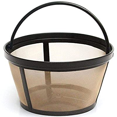 Mr. Coffee GTF2-1 Basket-Style Gold Tone Permanent Filter