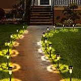 Solpex 16 Pack Solar Lights Outdoor Pathway ,Solar