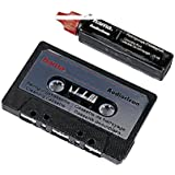 Hama MC-Reinigungskassette Audioclean für Kassettenrekorder (Walkman, Autoradio, zur Nassreinigung mit Reinigungsfluid)