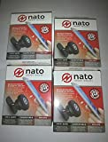 Nato Smart Mount - ( 4 PACK SET) For-Smartphones, Tablets, Devices <2Ibs