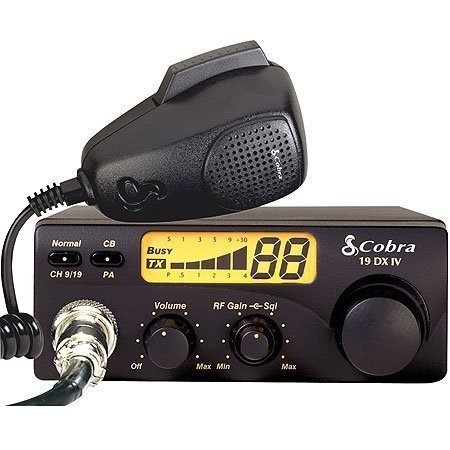 19 DX IV - CB Radio - LCD Display - 40 channels by Cobra by Cobra (Image #8)