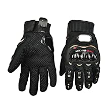 Mingus 3D Breathable Mesh Fabric Gloves Full Finger Gloves for Motorcycle Mountain Motorbike Motocross Off-Road Cycling Bike