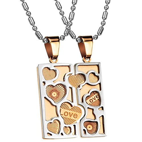 bluebell-jewelry-stainless-steel-square-tag-love-heart-puzzle-pendant-necklace-for-couples