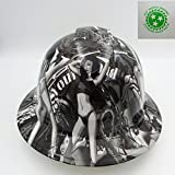 Product review for Wet Works Imaging Customized Pyramex Full Brim Biker Babes Hard Hat With Ratcheting Suspension