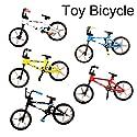 Peradix ミニチュア自転車 フィンガー 模型 おもちゃ インテリア 置物 デコレーション ミニカー 子供への最高スポーツギフト