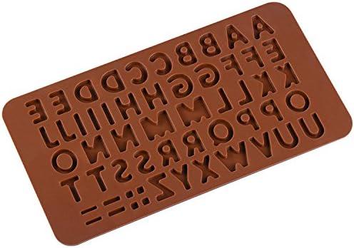 Letras silicona Break-apart Chocolate barra de proteína y ...