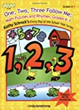 One, Two, Three, Follow Me! Math Puzzles and Rhymes (Kathy Schrock's Every Day of the School Year Series)