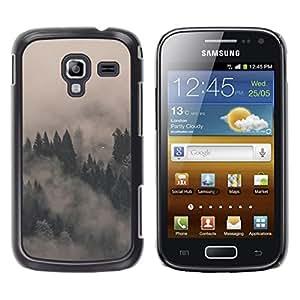 EJOY---Cubierta de la caja de protección la piel dura para el / Samsung Galaxy Ace 2 / --MISTY FOGGY FORREST