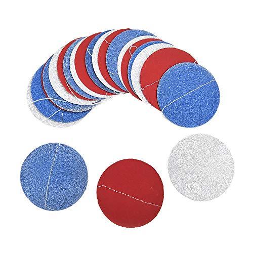 (Ktyssp Glitter Circle Polka Dots Garland Banner Bunting Party Decor (F))