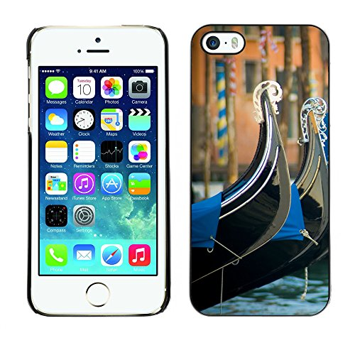 Hülle Case Schutzhülle Cover Premium Case // V00002680 Venedig // Apple iPhone 5 5S 5G