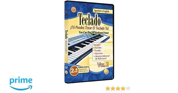 2: You Can Play the Keyboard Now / Teclado, Vol. 2: Tu Puedes Tocar El Teclado Ya (2-in-1 Bilingual Series): Rogelio Maya: Movies & TV