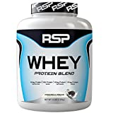 RSP Nutrition Whey Protein Powder Blends, Cookies and Cream, 4 Pound