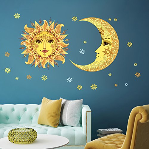 DecalMile Removable Stickers Nursery Bedroom product image