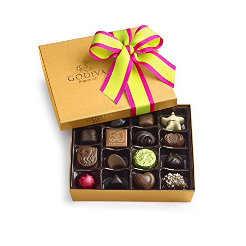 Godiva Chocolatier Spring Ballotin 19 Piece Gift Box, 7.1 Ounce, Great for (Godiva Spring)