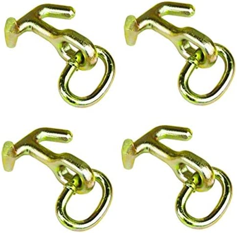 """Set of 6 5//16/"""" X 6/' G70 CHAIN with CLUSTER HOOK WRECKER TOW TRUCK TRANSPORT"""