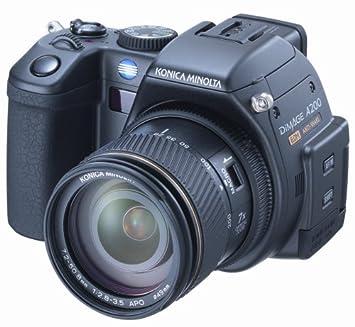 konica minolta dimage a200 8mp digital camera with anti shake 7x optical zoom - Minolta Digital Camera
