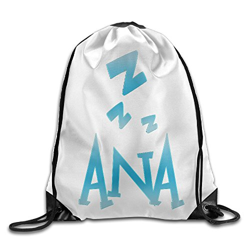 Price comparison product image CEDAEI OverW Game New Hero Ana Drawstring Bags Rowing White Backpack Sport Bag For Men & Women School Travel Backpack For Teens College