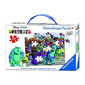Ravensburger Disney Monsters University Picture Day Puzzle in a Suitcase Box 100 Piece Jigsaw Puzzle for Kids – Every…