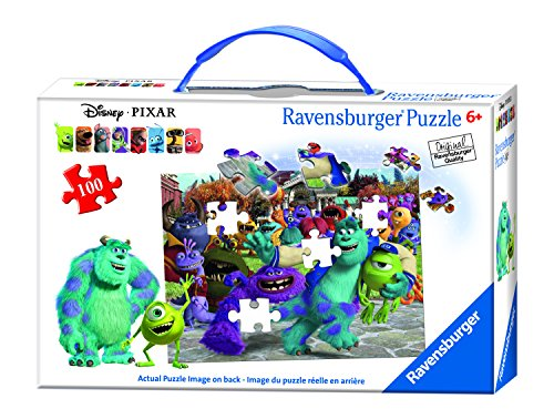 Ravensburger Disney Monsters University Picture Day Puzzle in a Suitcase Box (100 Piece)