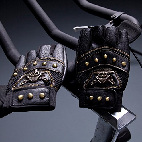 Ladies Cbr - Black Mens/Womens Motorcycle Accessories Pro-Bike Parts Fashion Gloves Joins Flexible Motorcycle Sport/Outdoor/Bike Half Finger Adjustable Gloves Fit For Honda CBR 600 F2 F3 F4 F4i 1991-2007