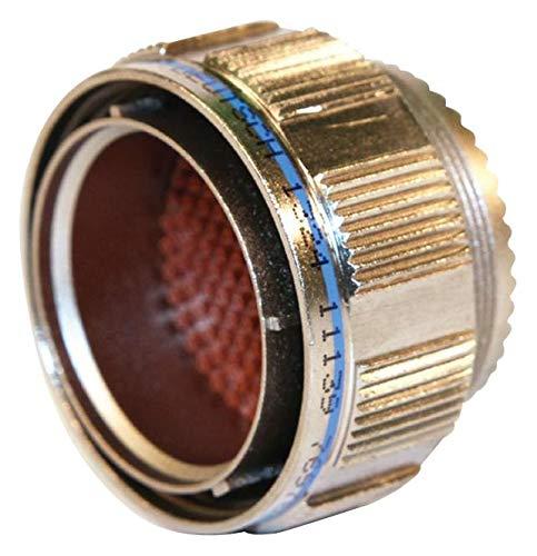 D38999/26WD18PN - Circular Connector, MIL-DTL-38999 Series III, Straight Plug, 18 Contacts, Crimp Pin, Threaded (D38999/26WD18PN)