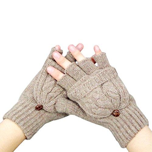ブルーベル不適切なタイトルHunzedレディース暖かい冬指なし手袋