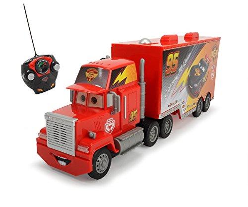 Dickie Toys 203089002 - RC Carbon Turbo Mack Truck, funkferngesteuerter LKW, 46 cm