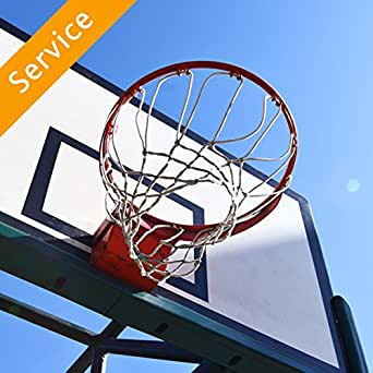Portable Basketball Hoop Assembly Amazon Com Home Services