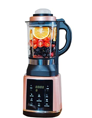 HBBenz Batidora Vaso, Licuadora de Batidos, Batidora para Smoothie, Triturador Eléctrica para Frutas