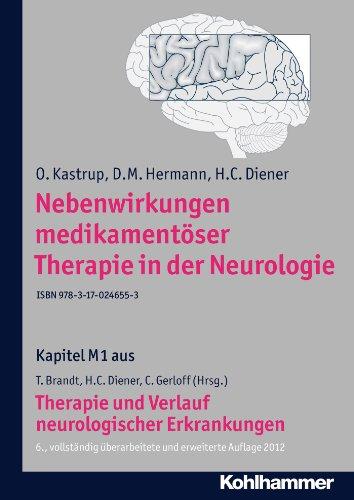 Nebenwirkungen medikamentöser Therapie in der Neurologie: M1 Therapie und Verlauf neurologischer Erkrankungen