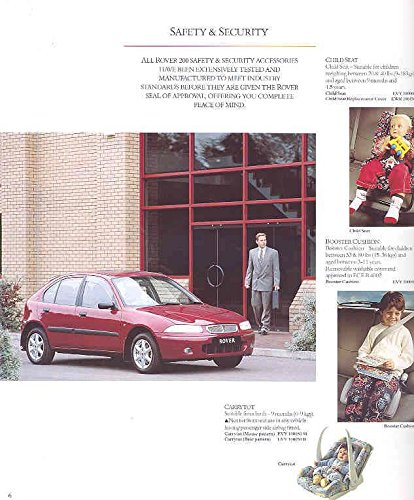 Amazon.com: 1993 1996 ? Rover Series 200 Accessories Brochure: Entertainment Collectibles