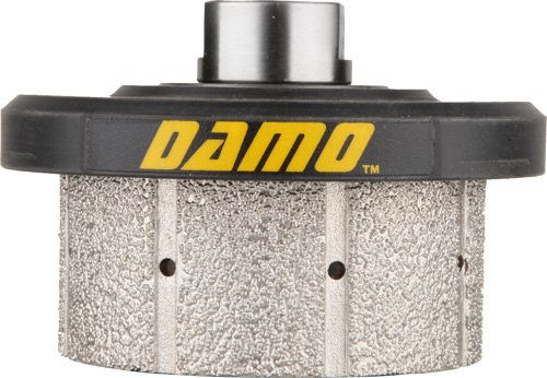 DAMO Z30 90 Degree Diamond Hand Profiler Drum Wheel with 5/8-11 Thread for Granite Concrete Marble Countertop