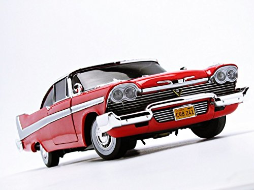 1/18 '58 Plymouth Fury Stephen King Christine Die Cast Movie Car, Multicolored (AWSS102) 5