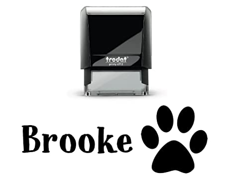 amazon com pickled artwork name stamps customized kids self inking