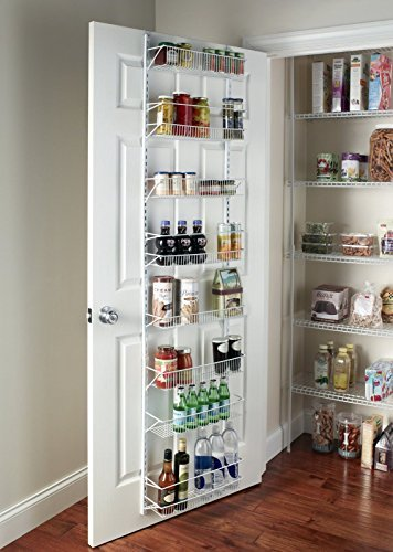Over-the-Door Spice Rack Wall Mount Pantry Kitchen 8-Tier Cabinet Organizer, 77-Inch Height X 18-Inch Wide'' by Unknown