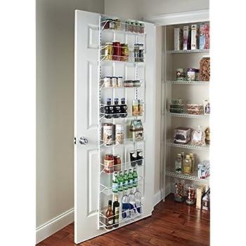 Amazon Over The Door Spice Rack Wall Mount Pantry Kitchen 8