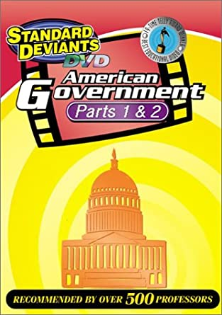 Amazon.com: The Standard Deviants - American Government 2-pack ...