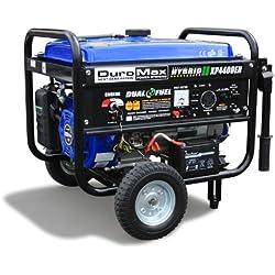 DuroMax XP4400EH, 3500 Running Watts/4400 Starting Watts, Dual Fuel Powered Portable Generator