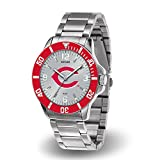 (DEAD) Cincinnati Reds Key Watch with Stainless Steel Band